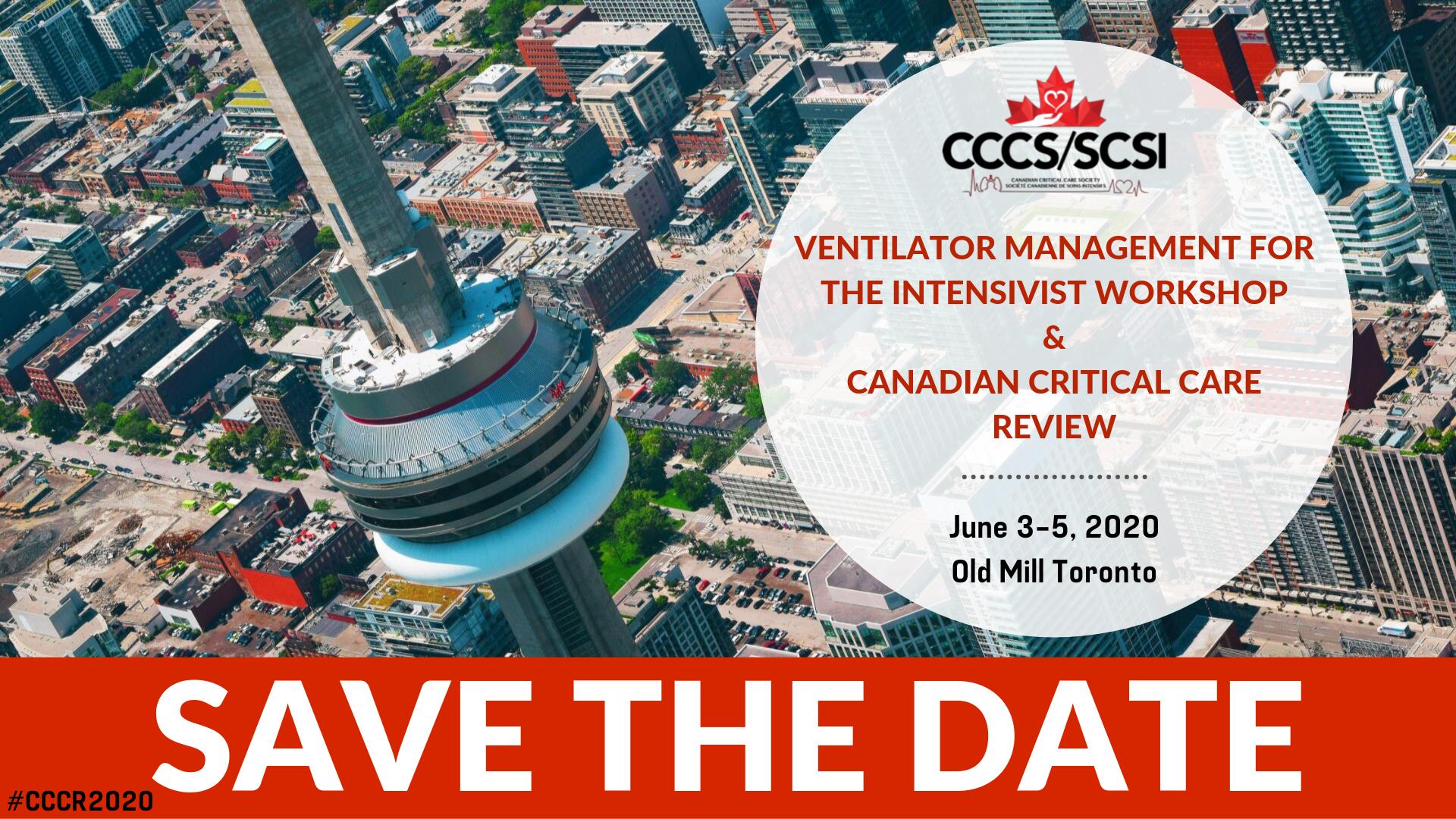 Canadian Critical Care Society - CCCR